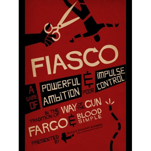 Buy Fiasco - Core Rulebook and more Great RPG Products at 401 Games