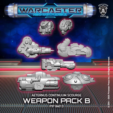 Warcaster - Neo-Mechanika - Aeternus Continuum - Scourge Weapon Pack (Variant B) - 401 Games