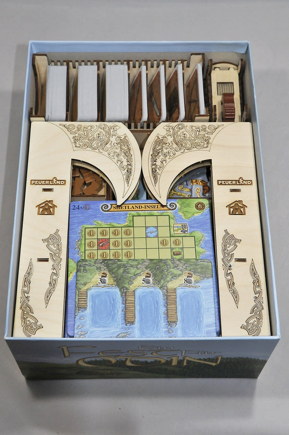 Meeple Realty - Feast for Odin - Box Insert - 401 Games