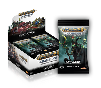 Warhammer - Age of Sigmar - Champions - Savagery Booster Box