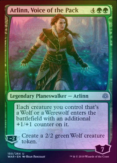 Arlinn, Voice of the Pack (Foil) (WAR)
