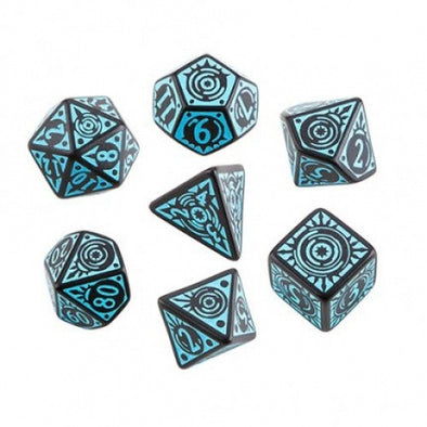 Buy Dice Set - Q-Workshop - 7 Piece Set - Pathfinder - Iron Gods and more Great Dice Products at 401 Games