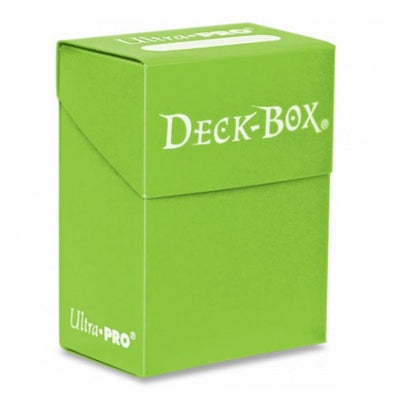 Ultra Pro - Deck Box 80ct - Green - 401 Games