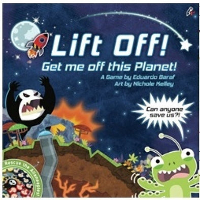 Lift Off! Get Me Off This Planet - 401 Games