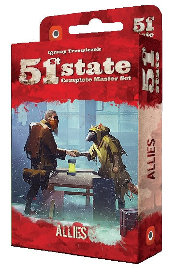 Buy 51st State - Allies (Pre-Order) and more Great Board Games Products at 401 Games