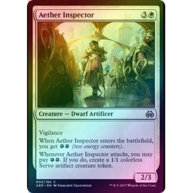 Aether Inspector (Foil) (AER) available at 401 Games Canada