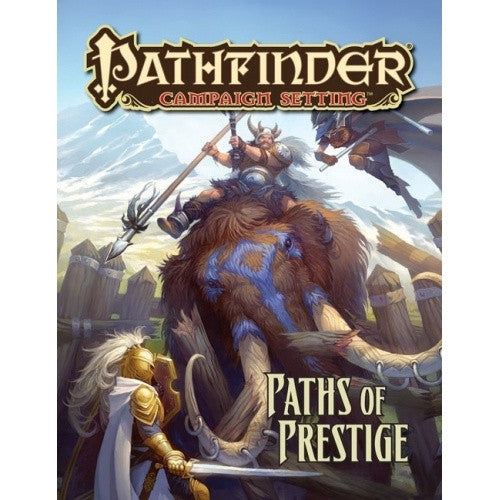 Buy Pathfinder - Campaign Setting - Paths of Prestige and more Great RPG Products at 401 Games