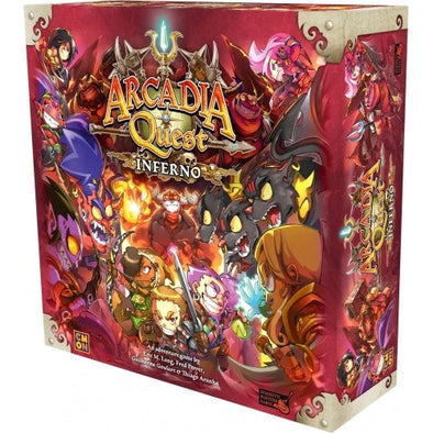 Arcadia Quest - Inferno - Base Game - 401 Games