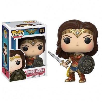 Buy Pop! DC Wonder Woman - Wonder Woman Sword and shield and more Great Funko & POP! Products at 401 Games