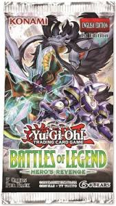 Yugioh - Battles of Legend - Hero's Revenge Booster Pack available at 401 Games Canada