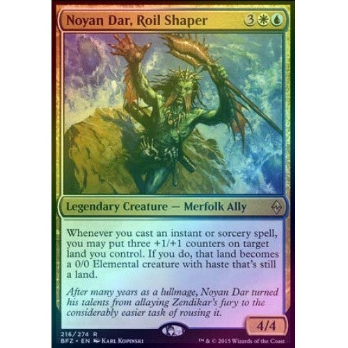 Noyan Dar, Roil Shaper (Foil) (BFZ) available at 401 Games Canada
