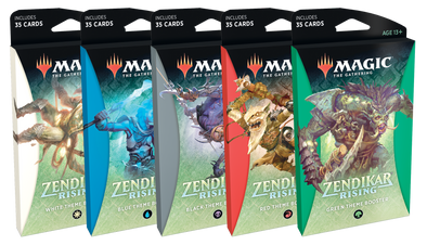 MTG - Zendikar Rising - Theme Booster Pack - Set of 6 available at 401 Games Canada