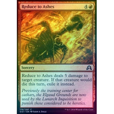 Reduce to Ashes (Foil)