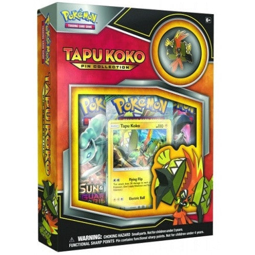 Buy Pokemon - Tapu Koko Pin Collection and more Great Pokemon Products at 401 Games