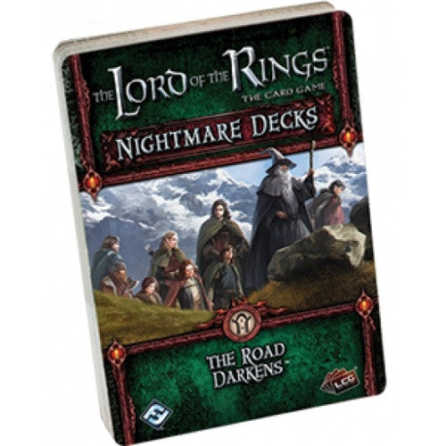 Lord of the Rings Living Card Game - The Road Darkens Nightmare Deck - 401 Games