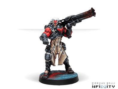 Infinity - Combined Army - Kurgats, Reg. of Assault Engineers (Autocannon) available at 401 Games Canada