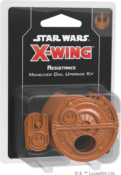 Star Wars: X-Wing - Second Edition - Resistance Maneuver Dial Kit (Pre-Order)