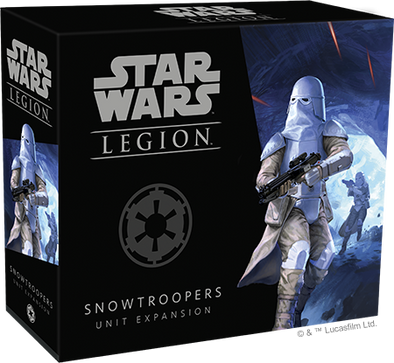 Star Wars - Legion - Imperial - Snowtroopers Unit Expansion - 401 Games