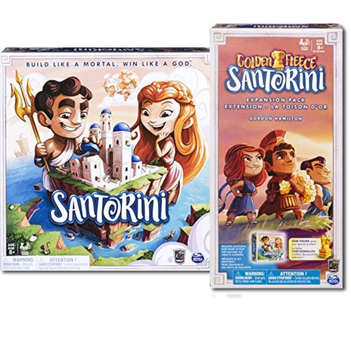Board Game Bundle - Santorini and Expansion - 401 Games