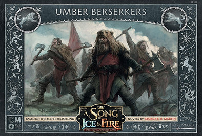 Buy A Song of Ice and Fire - Tabletop Miniatures Game - House Stark - Umber Berserkers and more Great Tabletop Wargames Products at 401 Games
