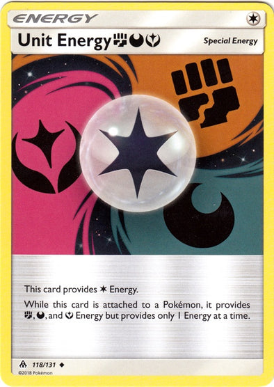 Buy Unit Energy FDY - 118/131 and more Great Pokemon Products at 401 Games