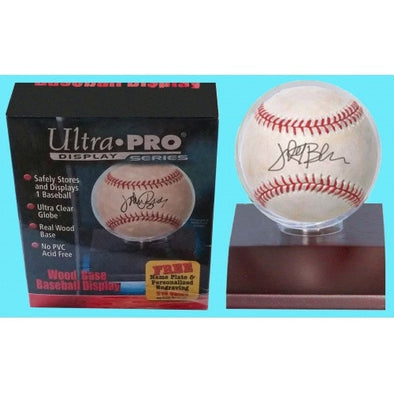 Buy Ultra Pro - Display Case - Baseball Display Light Wood and more Great Sleeves & Supplies Products at 401 Games