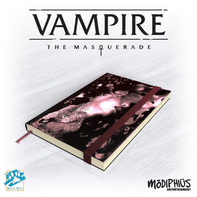 Buy Vampire - The Masquerade 5th Ed. - Official Notebook and more Great RPG Products at 401 Games