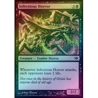 Infectious Horror (Foil) (CON) - 401 Games