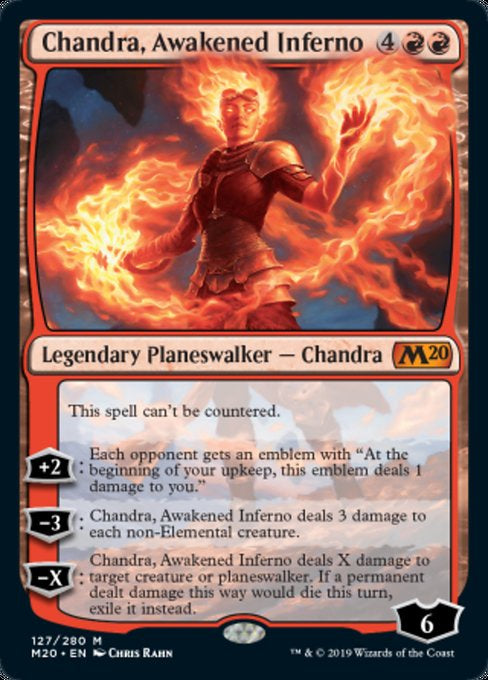 Chandra, Awakened Inferno (M20) - 401 Games
