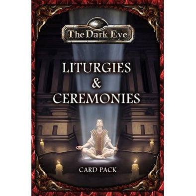 The Dark Eye - Liturgies & Ceremonies Card Pack - 401 Games