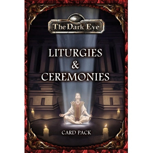Buy The Dark Eye - Liturgies & Ceremonies Card Pack and more Great RPG Products at 401 Games