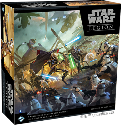 Buy Star Wars - Legion - Clone Wars Core Set (Pre-Order) and more Great Tabletop Wargames Products at 401 Games