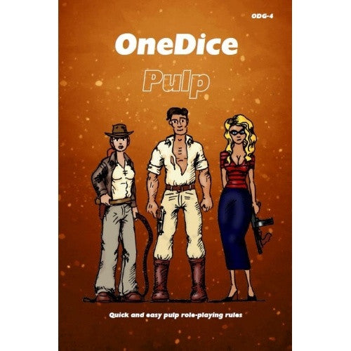One Dice - Pulp Core Rulebook - 401 Games