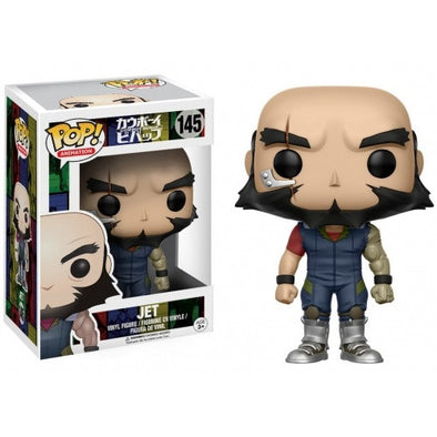 Buy Pop! Cowboy Bebop - Jet and more Great Funko & POP! Products at 401 Games
