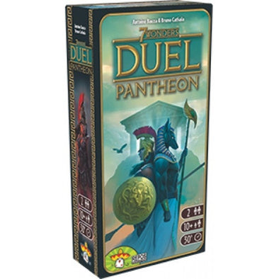 Buy 7 Wonders - Duel - Pantheon Expansion and more Great Board Games Products at 401 Games