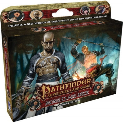 Buy Pathfinder Adventure Card Game - Monk Class Deck and more Great Board Games Products at 401 Games