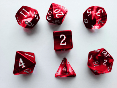 Buy Little Dragon - Birthstone Dice - Garnet (January) and more Great Dice Products at 401 Games