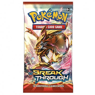 Buy Pokemon - BREAKThrough Booster Pack and more Great Pokemon Products at 401 Games
