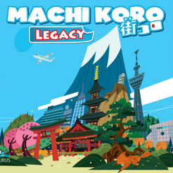 Buy Machi Koro Legacy (Pre-Order) and more Great Board Games Products at 401 Games