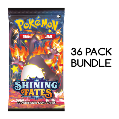 Pokemon - Shining Fates - Booster Pack - 36 Pack Bundle available at 401 Games Canada