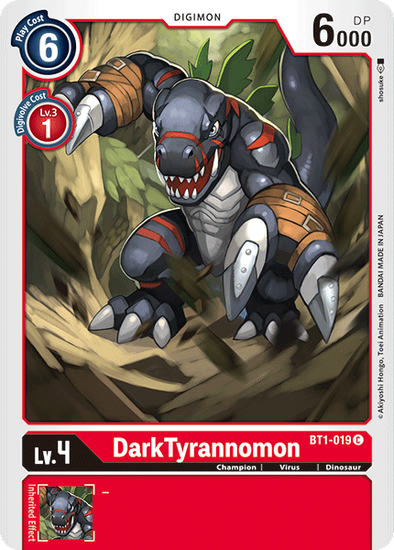 DarkTyrannomon (BT1-019) available at 401 Games Canada
