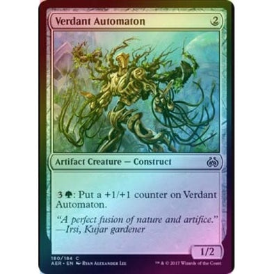 Verdant Automaton (Foil) (AER) available at 401 Games Canada