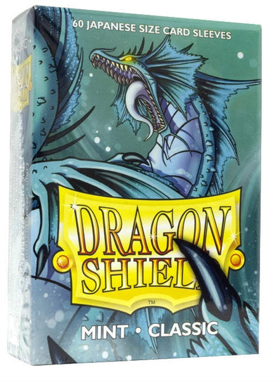 Buy Dragon Shield - 60ct - Japanese Size - Mint and more Great Sleeves & Supplies Products at 401 Games