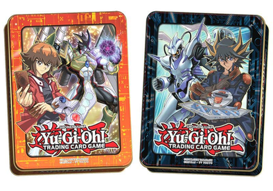 Buy Yugioh - 2018 Mega Tin - Jaden Yuki and Yusei Fudo and more Great Yugioh Products at 401 Games