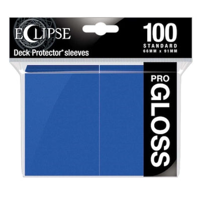 Ultra Pro - Gloss Eclipse - Standard Size - Pacific Blue 100ct available at 401 Games Canada
