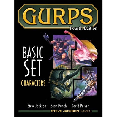 Gurps - Basic Set Characters - 401 Games