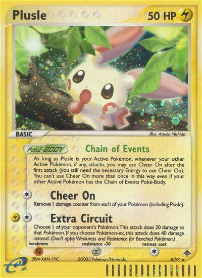 Plusle - 8/97 (DRG008) available at 401 Games Canada