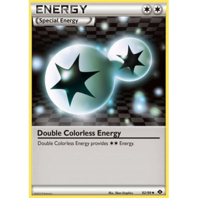 Double Colorless Energy - 92/99 - Reverse Foil - 401 Games