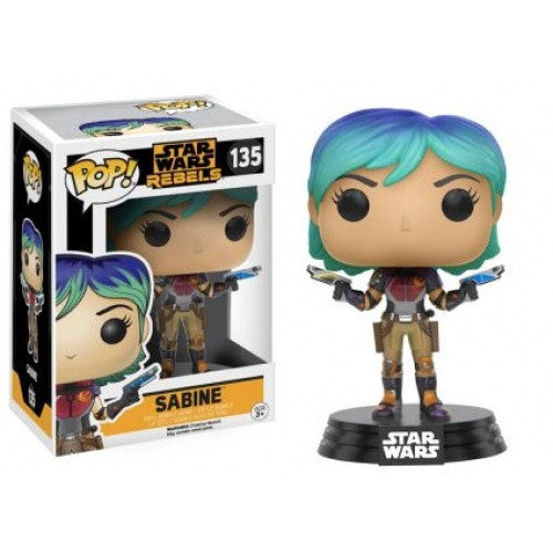 Buy Pop! Star Wars - Star Wars: Rebels - Sabine and more Great Funko & POP! Products at 401 Games