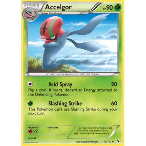 Buy Accelgor - 12/101 - Reverse Foil and more Great Pokemon Products at 401 Games